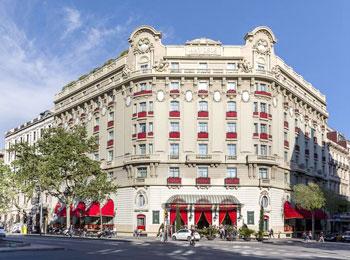 ヨーロピアンエレガント5つ星ホテル『エル パレス』宿泊バルセロナ5日間