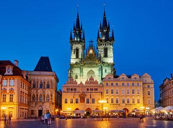 ☆中欧ショートトリップ☆ 気軽にプラハ・ウィーン国際列車の旅5日間 最終日まで遊べます!