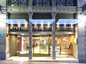 ~料金は抑えたい、でも観光するのに立地は良い場所が良い~そんなあなたにおすすめ『ホテル リアルト』宿泊バルセロナ5日間
