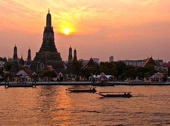 タイ国際航空・直行便で行く!バンコクにフリー滞在・ショートトリップ4日間☆