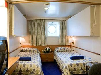 XA海側船室