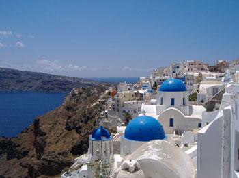 ☆フィラタウン眺望がすばらしい「ヴィラレノス」で島の雰囲気に触れる☆サントリーニ島&アテネ8日間(全区間送迎付)