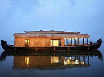 インド ハウスボート