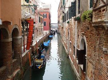 イタリア ベネチア運河