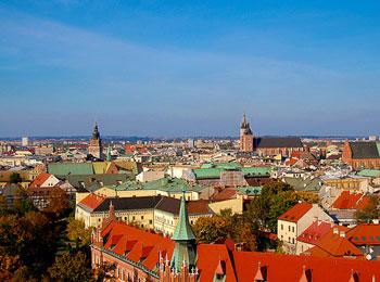ポーランド航空就航1周年記念! 古都クラクフとワルシャワ8日間