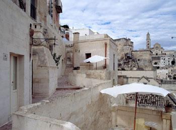 マテーラ サッシ ホテル 南イタリア 洞窟住居