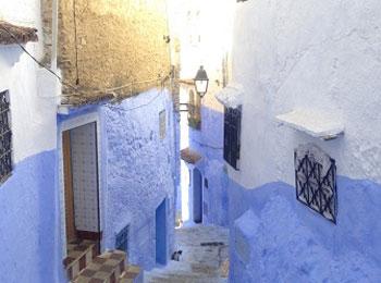 【専用車で巡る】青の街シャウエンも訪ねる~カサブランカ・マラケシュ・フェズ&シャウエン~魅惑のモロッコ周遊7日間≪全食事付≫