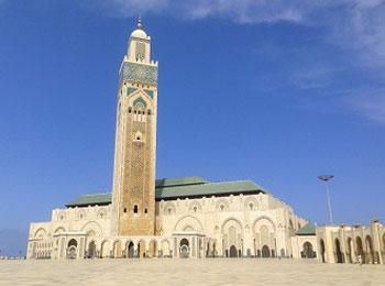モロッコ ハッサンモスク
