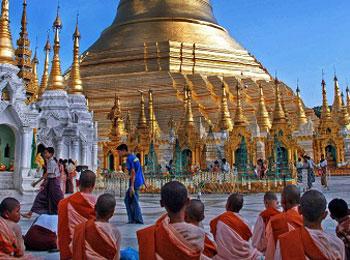 <全日空直行便で行く>☆黄金の仏教の国・ミャンマー☆ヤンゴン往復送迎付フリープラン5日間(全朝食付)
