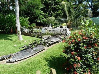 パプアニューギニア ラバウル ゼロ戦ココポ博物館