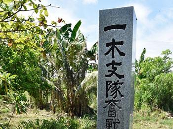 ガダルカナル島 ソロモン諸島 ソロモン慰霊碑 戦跡