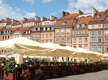 ポーランド航空就航記念! リトアニア・ポーランドを旅する♪ 世界遺産の街ヴィリニュス・古都クラクフとワルシャワ8日間