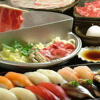 すき焼き、しゃぶしゃぶ、生鮨食べ放題・・・職人の技 いまめき亭_(イメージ)