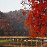 秋の京都_渡月橋(イメージ)