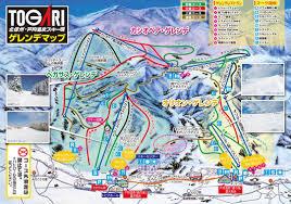 戸狩温泉スキー場ゲレンデマップ