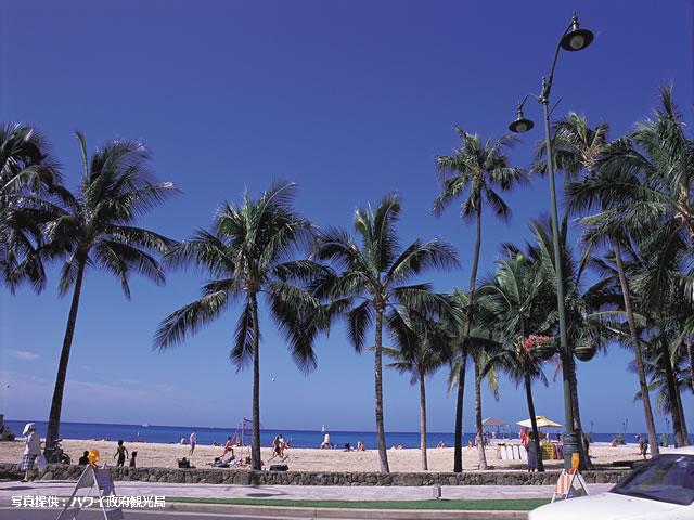 <福岡発>乗継便でお得に♪「ワイキキサンドヴィラ」に泊まるハワイ5日間♪ソウルへの立寄りOK!【1名様より催行/カード決済OK】