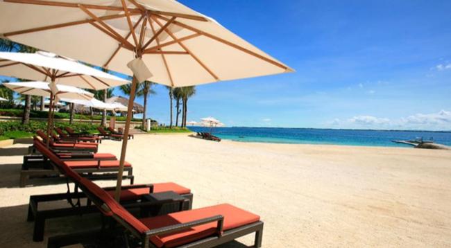 美しいプライベートビーチもあります。ビーチサイドバーもあるので、ゆっくりお過ごしいただけます。/ビーチイメージ