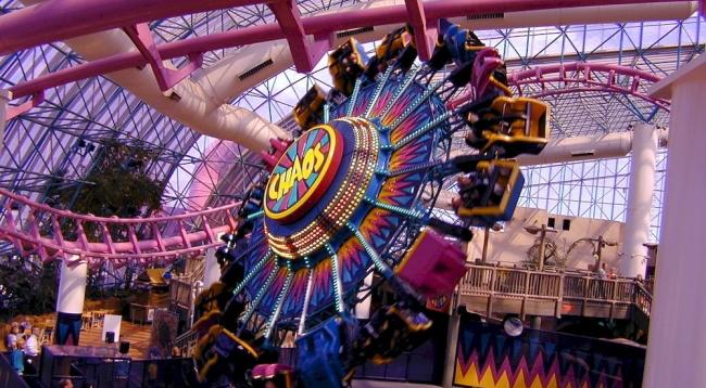 アメリカ最大規模の室内遊園地があります/サーカスサーカス/イメージ