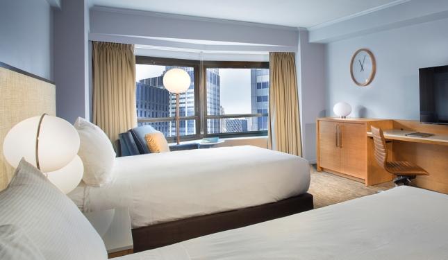 客室は広くシックで落ち着いた雰囲気/ニューヨーク ヒルトン ミッドタウン/イメージ