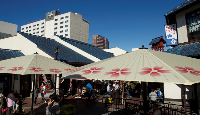 ダウンタウンのリトル東京に位置/ミヤコホテル/イメージ
