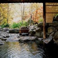 ランプの宿 青荷温泉(露天風呂)