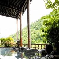 延対寺荘 眺望抜群の露天風呂