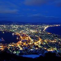 観る人たちを魅了する函館の夜景