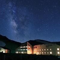 降り注ぐ星空 ホテル立山
