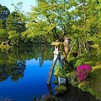 日本三名園「兼六園」(イメージ)