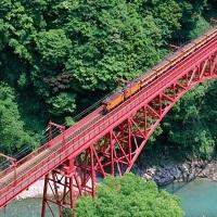 大自然観光に! 黒部渓谷鉄道 トロッコ電車