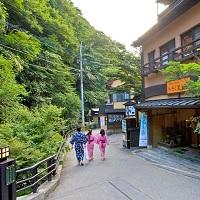 黒川温泉 街歩き