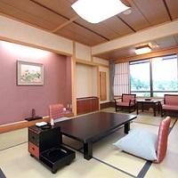 月岡温泉ホテル清風苑(平安亭客室一例)