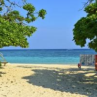 いつまでもボーっと見ていられる美しすぎるビーチ(新城海岸)
