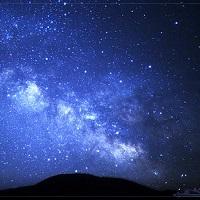 天空の楽園で日本一の星空を鑑賞(星空はイメージ)
