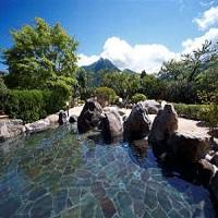 ゆふいん山水館(露天風呂)