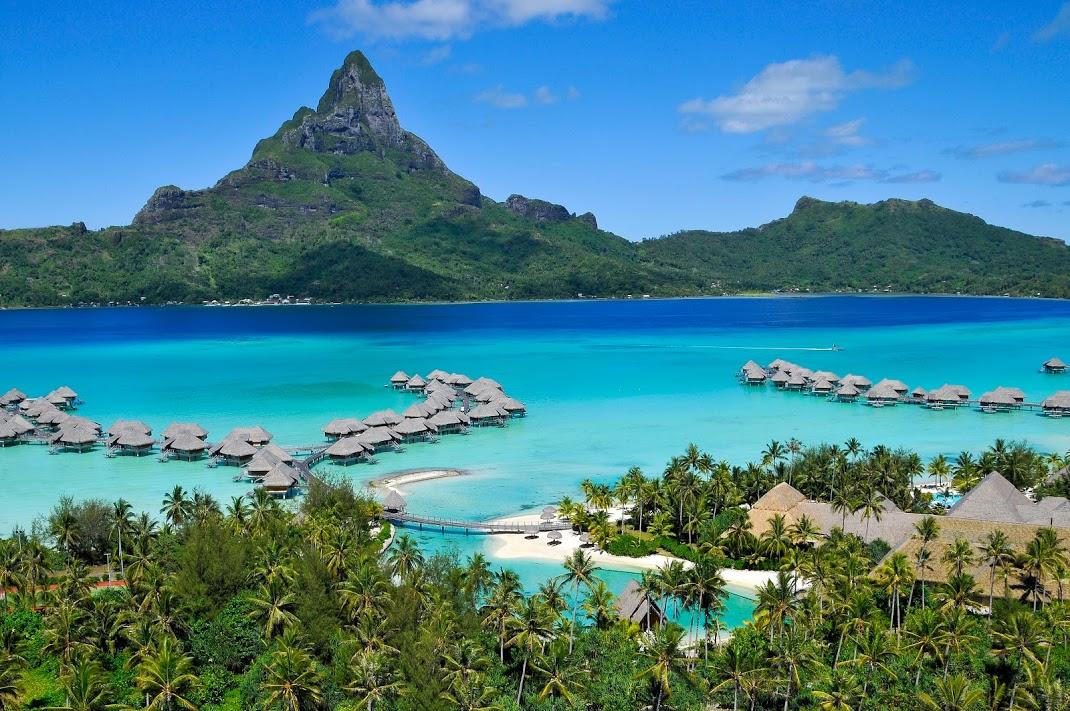 憧れリゾートタヒチ◆ボラボラ島6日間/インターコンチネンタル・ボラボラリゾート&タラソスパ(エメラルド水上ヴィラ)