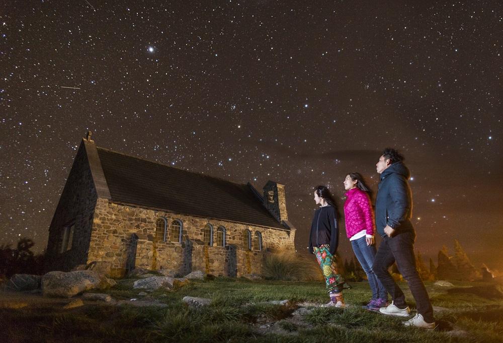 ミルキーブルーの湖と美しい星空の村『テカポ』に滞在☆ニュージーランド南島7日間/成田発ニュージーランド航空