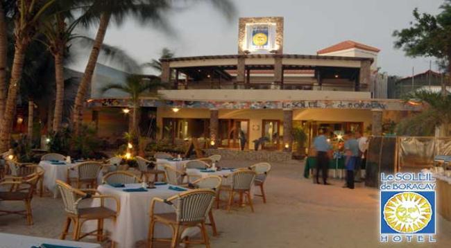 ビーチにはレストランもあります!また、ホテル入口の2階部分にもレストランがあり、美しいビーチを見ながらお食事を楽しんでいただけます♪/レストランイメージ