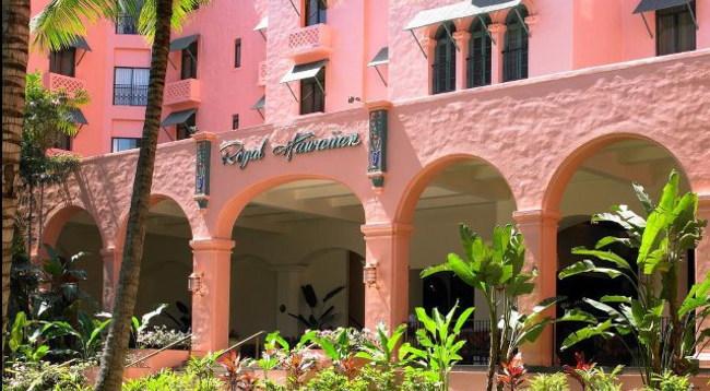 1927年の創業以来「太平洋のピンク・パレス」/外観イメージ
