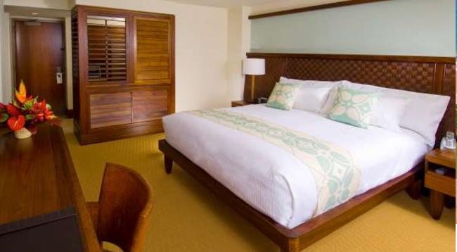 ハワイアン風のインテリで統一されていて、リゾート気分を満喫できます/ロイヤルラハイナ/イメージ