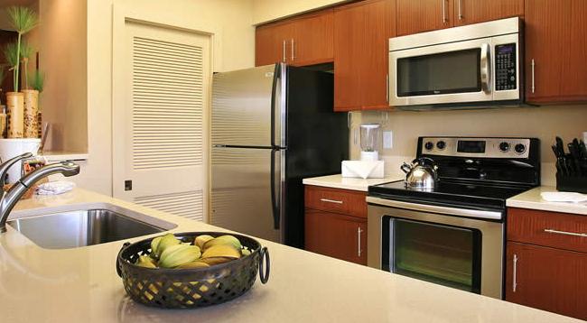 キッチン、洗濯・乾燥機もあります/ショアーズアットワイコロア/イメージ