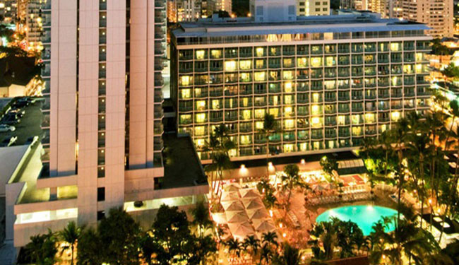 サービスや雰囲気も良い気品あるホテル/シェラトンプリンセスカイウラニ