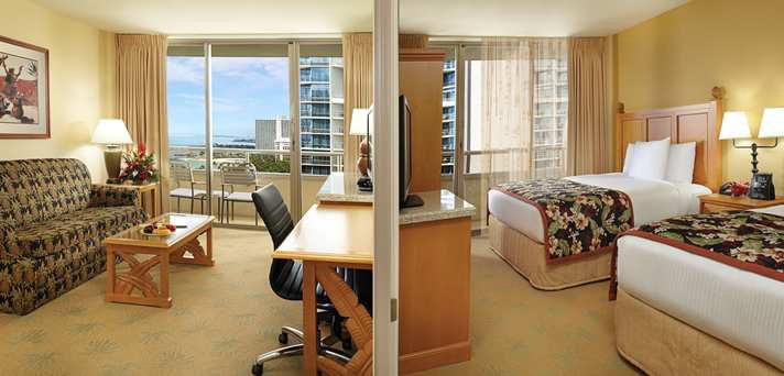 リビングルームと寝室が分かれた1ベッドルーム/エンバシースイーツ/イメージ