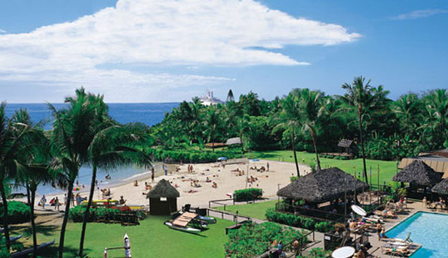 ハワイ島では希少な白砂ビーチ目の前♪/キングカメハメハ/イメージ