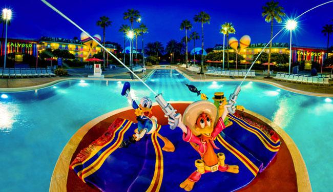 ディズニーオールスターリゾート/オーランド(c)Disney