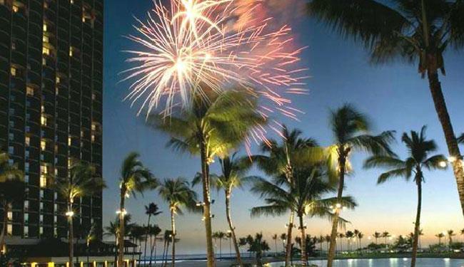金曜の夜には花火が上がります/ヒルトンハワイアンビレッジ/イメージ