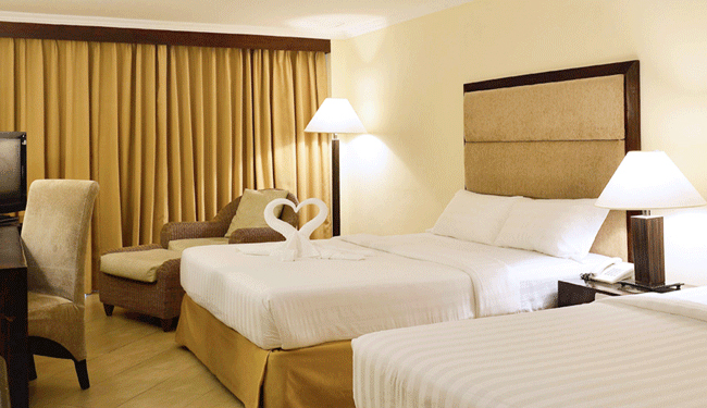 室も温かみのある色でまとまっており、とてもリラックスできます/客室イメージ<br />