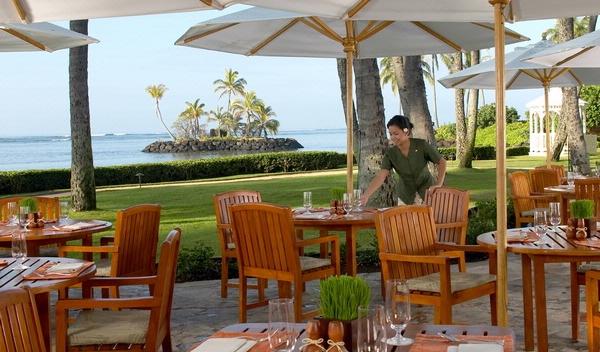 海の前にある「プルメリア・ビーチ・ハウス」で波の音を聞きながら、朝食を/カハラ/イメージ
