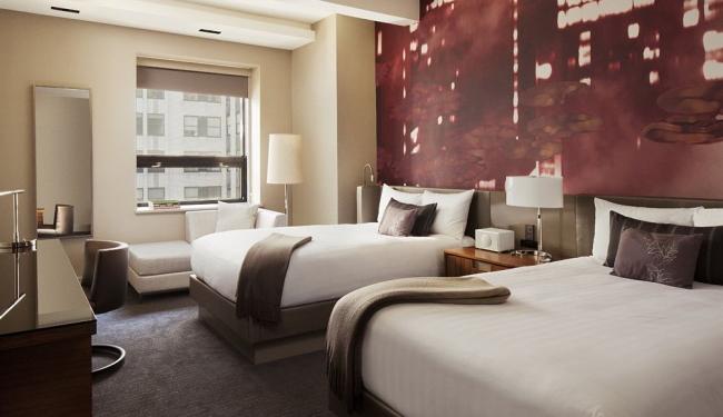 お部屋は、スタンダードルームで約32平米とニューヨークにしては広め/グランドハイアット/イメージ