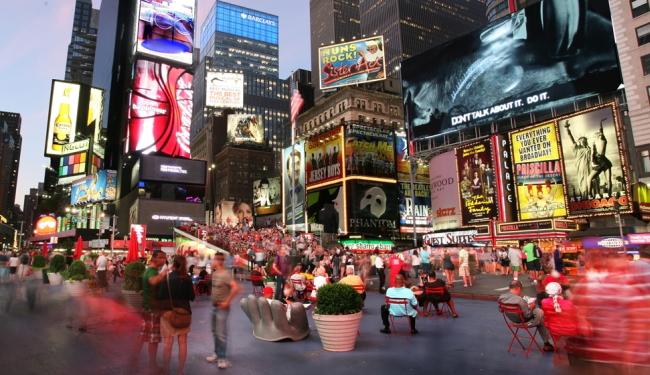 タイムズスクエアまで徒歩約10分!/ヒルトンミッドタウン/イメージ